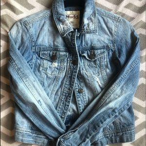 MUDD slightly cropped jean jacket